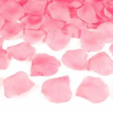 Lichtroze rozenblaadjes 1500x stuks