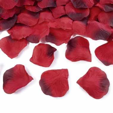 Rode rozenblaadjes 500x stuks