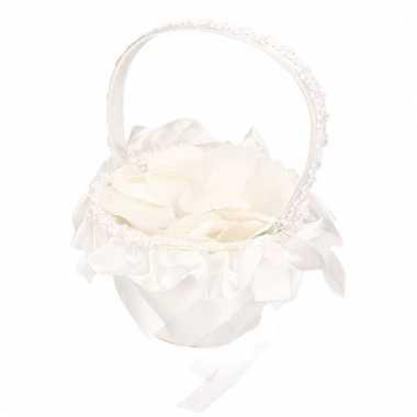 Rozenblaadjes mandje bruiloft 10114808