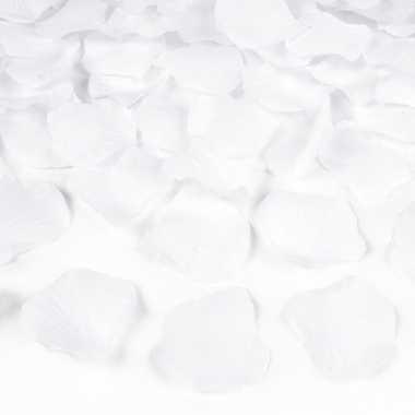 Witte rozenblaadjes 1500x stuks