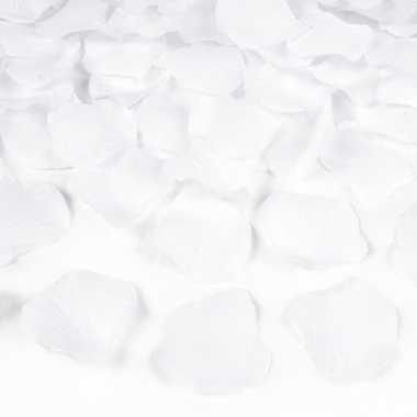 Witte rozenblaadjes 2000x stuks